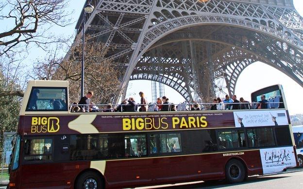 париж картинка автобусов часть