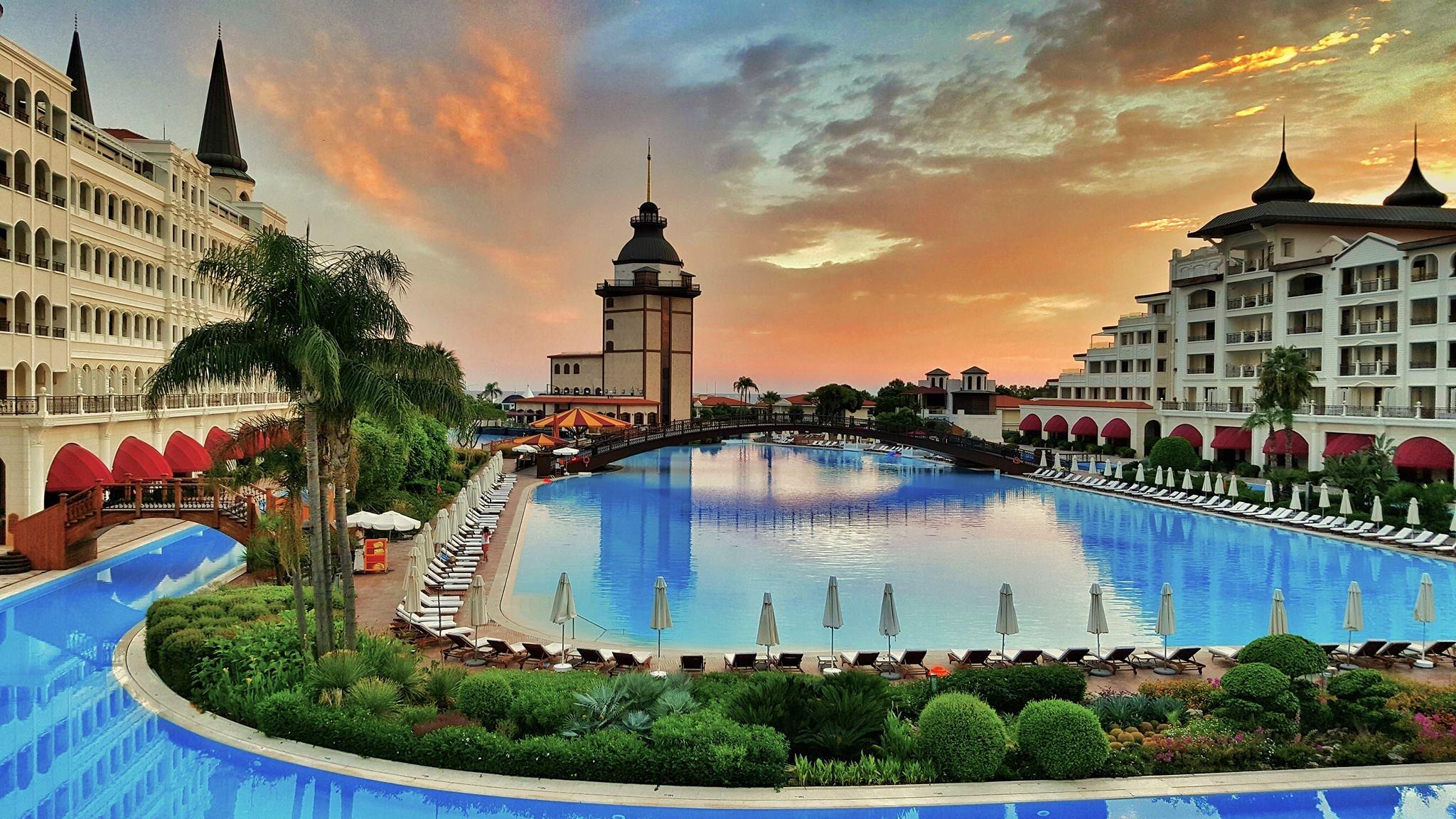 Самые красивые отели турции фото